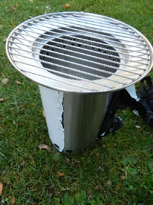Stove,Heater,BBQ combination unit